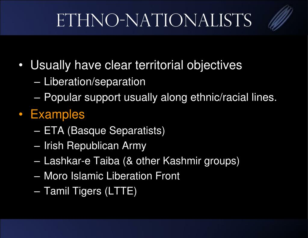 Ethno-Nationalists