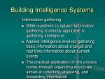 building intelligence systems34