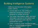 building intelligence systems39