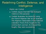redefining conflict defense and intelligence21