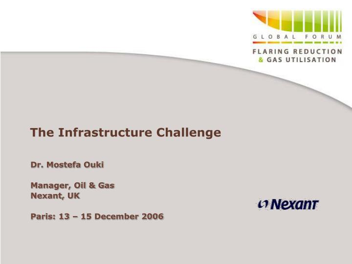 the infrastructure challenge n.