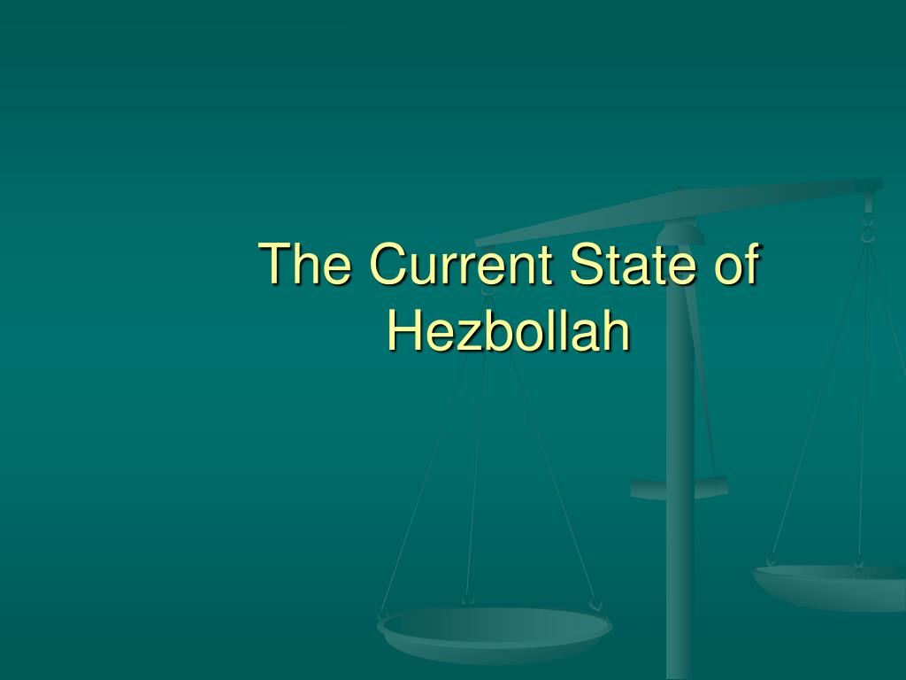 The Current State of Hezbollah