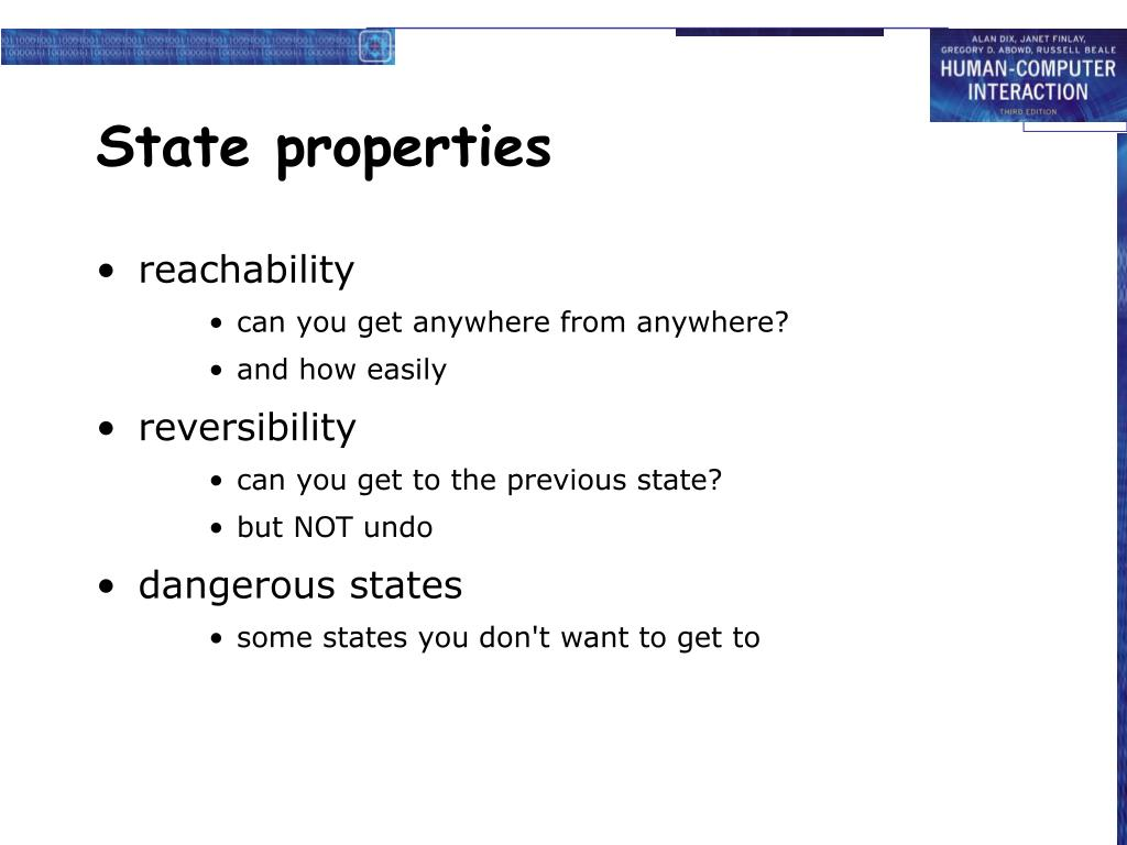 State properties