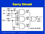 carry circuit