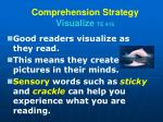 comprehension strategy visualize te 416