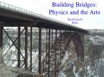 building bridges physics and the arts