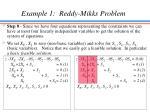 example 1 reddy mikks problem