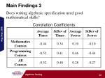 main findings 342