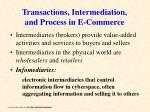 transactions intermediation and process in e commerce22