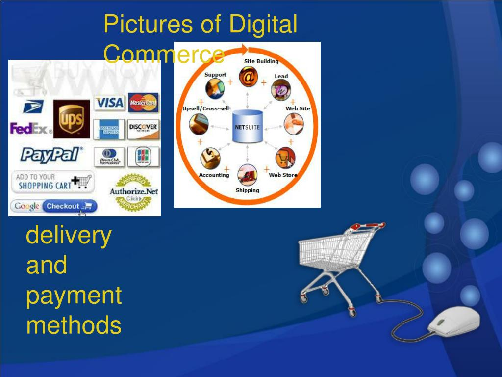 Pictures of Digital Commerce