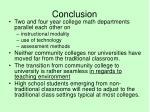 conclusion18
