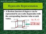 hypercube representation