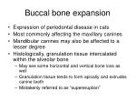 buccal bone expansion