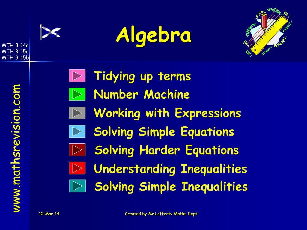 algebra l.