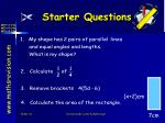 starter questions17