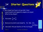 starter questions31