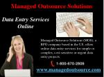 managed outsource solutions4