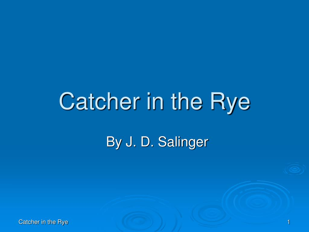catcher in the rye l.