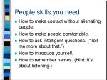 people skills you need