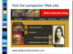 visit the companion web site