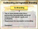 co branding and ingredient branding