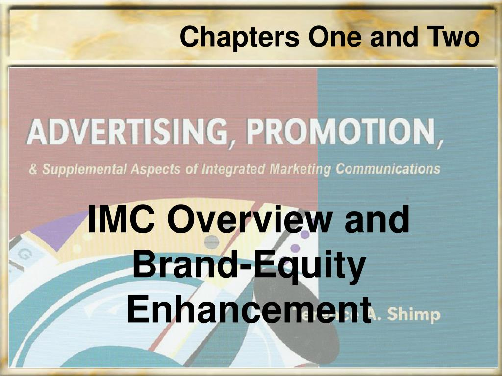 imc overview and brand equity enhancement l.