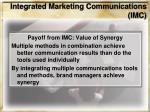 integrated marketing communications imc40