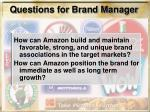 questions for brand manager21