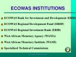 ecowas institutions11