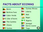facts about ecowas
