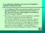 ii les migrations irr guli res et le processus d int gration r gionale en afrique de l ouest80