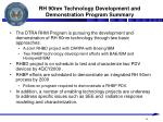 rh 90nm technology development and demonstration program summary
