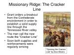 missionary ridge the cracker line24