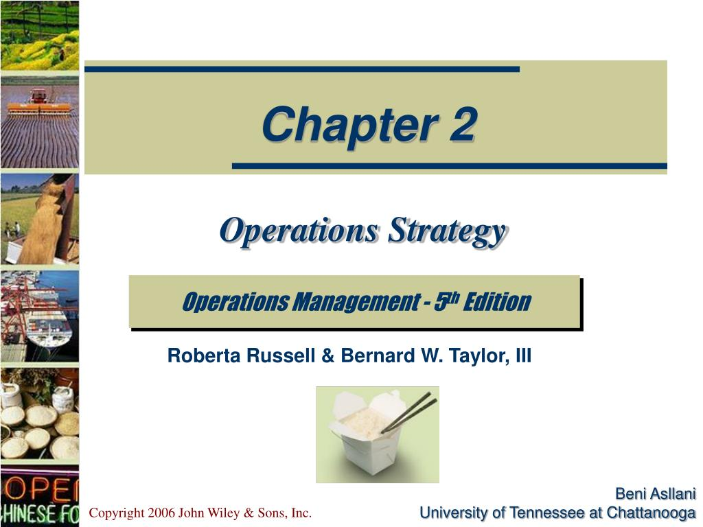 operations strategy l.
