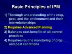 basic principles of ipm