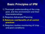 basic principles of ipm35