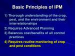 basic principles of ipm36