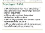 advantages of aba