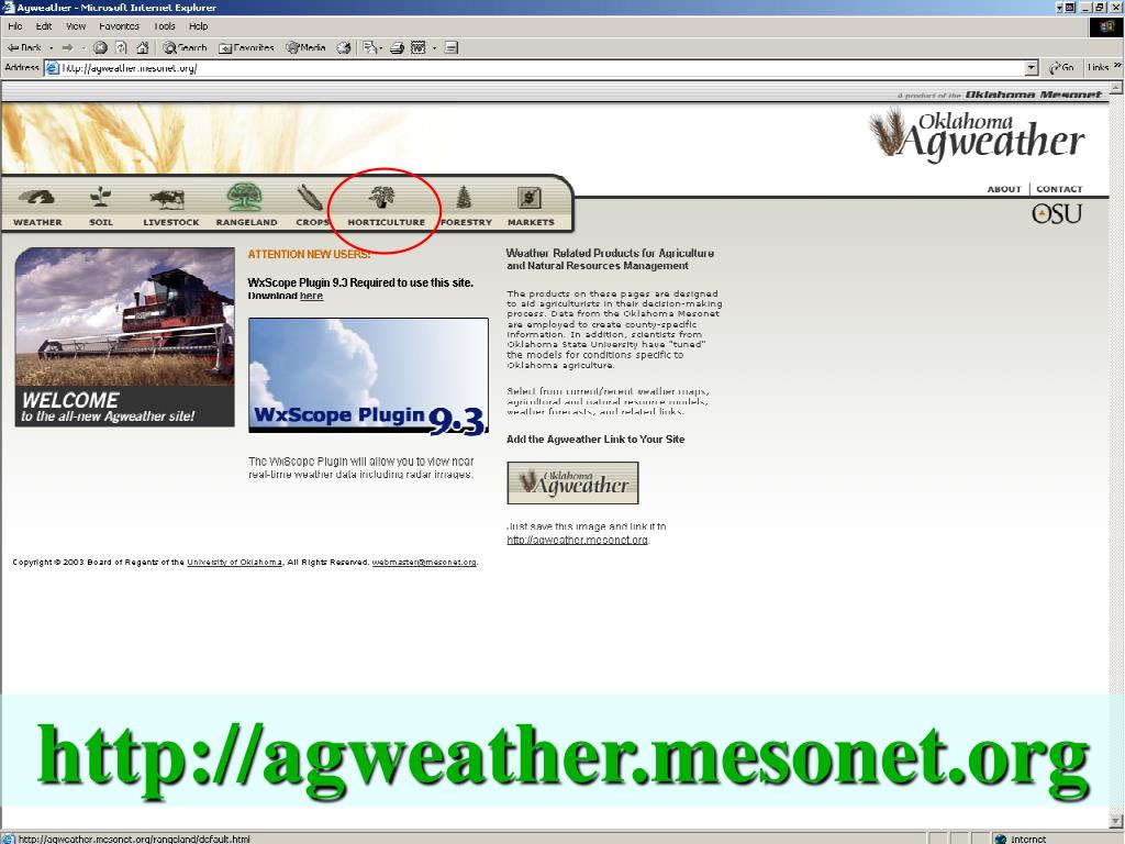http://agweather.mesonet.org