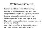 brt network concepts