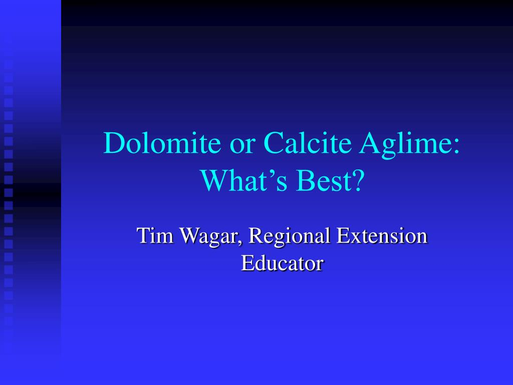 dolomite or calcite aglime what s best l.