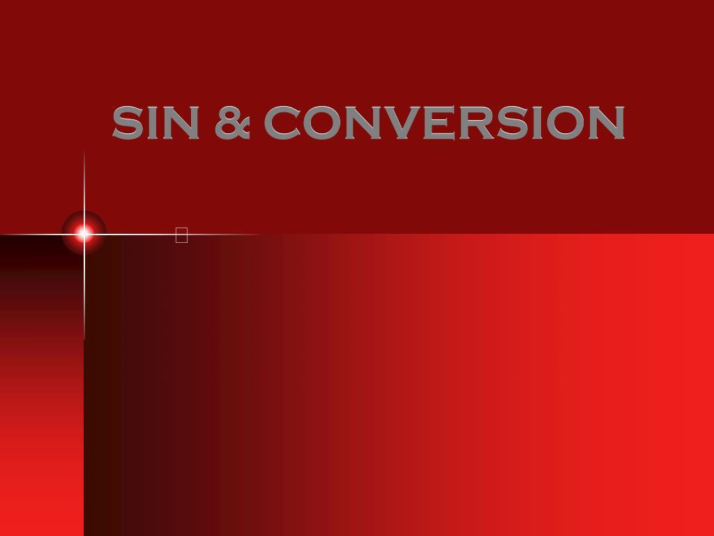 sin conversion l.