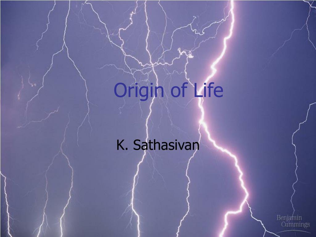 origin of life l.