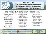 electrical computer engineering