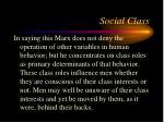 social class45