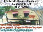 kenilworth historical museum alexandra street 54723090