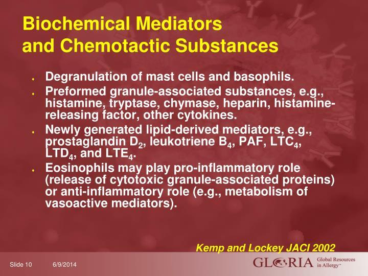 Biochemical Mediators