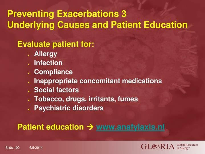 Preventing Exacerbations 3