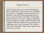 superstores