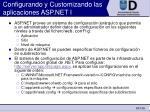 configurando y customizando las aplicaciones asp net i